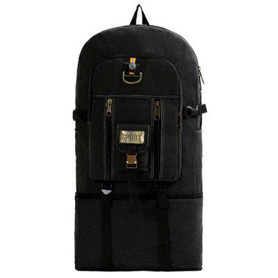 Men's Multifunction Canvas Camouflage Backpack Military Super Large Travel Bags