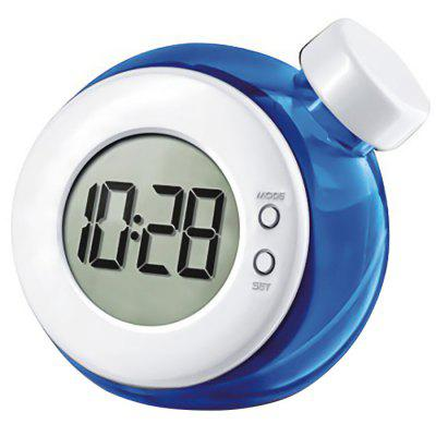 Creative Water Power Clock with Cute Bottle Shaped Design
