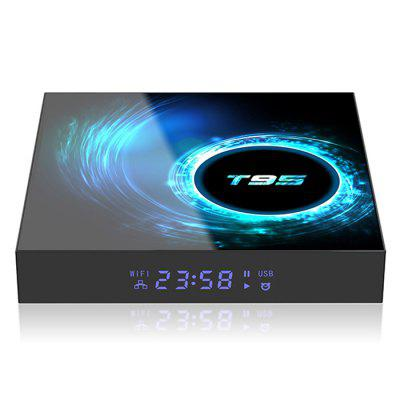 T95 Android 10,0 Allwinner H616 Smart TV Box