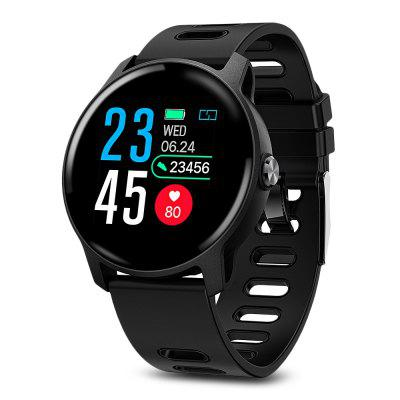 S08 Smart Sports Watch 1.3 inch Screen Health Care Fitness Tracker IP68 Waterproof Bluetooth Smartwatch