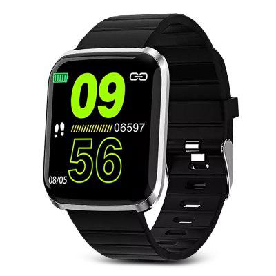 116 Pro 1.3 inch Large View Heart Rate Blood Pressure Monitor Multi-sport Modes Smart Sports Watch