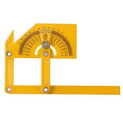 ABS Protractor Woodworking 180-degree Angle Ruler