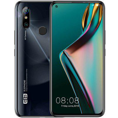 Elephone U3H 4G Smartphone 6.53 inch Android 9.0 Helio P70 Octa Core 6GB RAM 128GB ROM 2 Rear Camera 3500mAh Battery Global Version