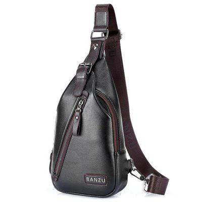 Bolsa de Ombro Masculina Fashion Casual Outdoor