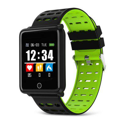 A8 Inteligentní Bluetooth Watch IP67 Vodotěsný Sports Smartwatch Health Data Activity Monitor Tracker s tepové frekvence / Krevní tlak / Oxygen Monitor