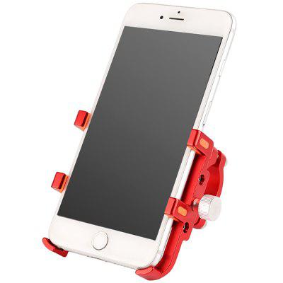 Bicycle Mobile Phone Holder Aluminum Alloy Anti Shock Fixed Navigation Frame Stand Riding Bracket