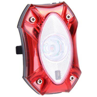 USB Charging Bicycle Taillight MTB Security Warning Light with 3 Lighting Modes for Night Riding Safe