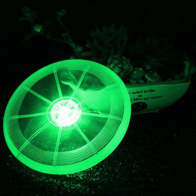 BRELONG BR-0114 Pet ​​Training Frisbee Toy Dog LED Lighting Outdoor Recreation Playthings