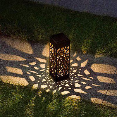BRELONG Solar Power Light Sensor Lawn Lamp Creative Hollow Out design Landscape Light