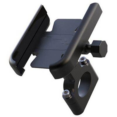 Aluminum Alloy Bicycle Phone Holder Electric Motorcycle Shock-proof Navigation Fixed Bracket