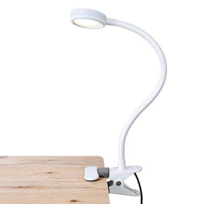 BRELONG BR-0117 LED Eye-caring Clip Light 3 Gears Adjustable Reading Lamp USB Powered