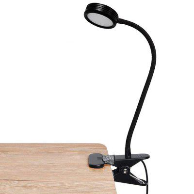 BRELONG BR-0117 LED Eye-pečující klipu Light 3 Gears Nastavitelný Reading Lamp USB Powered