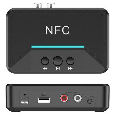 NFC Adaptador Inalámbrico Receptor de Audio Bluetooth