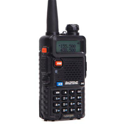 Baofeng UV-5R Dual Band Mini Walkie Talkie 10km Range Cool Two Way Radio with LED Flashlight FM Radio for Adults