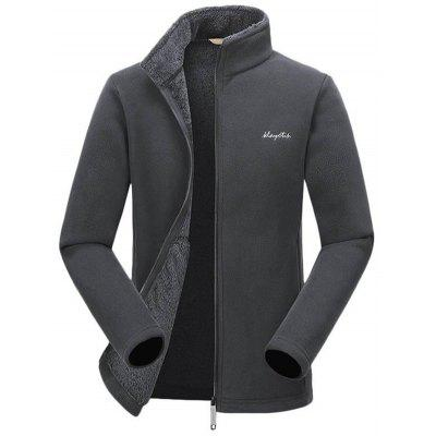 Herren Outdoor Warmer Stehkragen Mantel Herbst Winter Outdoor Lose Top