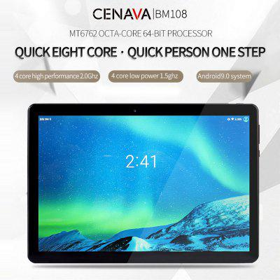 CENAVA BM108 Smartphone 10.1 Polegadas 4G Octa Core CPU Android 9.0 4GB / 64GB BT 5.0 Tablet PC