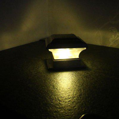 BRELONG BR-0124 Outdoor Solar Lamp Courtyard Garden Wall Light IP44 Waterproof