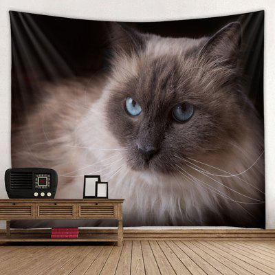 Shanghaojupin Exquisite Melancholy Cat Pattern Tapestry Animal Series Printed Creative Home Decoration Hanging Cloth