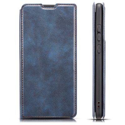 Retro 3-in-1 Ultra-thin Flip Phone Case PU Leather Protective Cover with Lanyard for Xiaomi Redmi 8