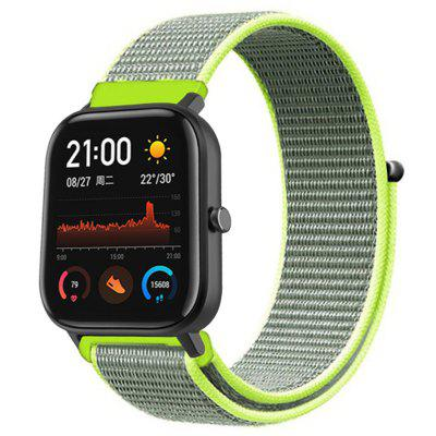 TAMISTER 20mm Nylon Band Vervanging Armband Watch Strap voor Amazfit GTS