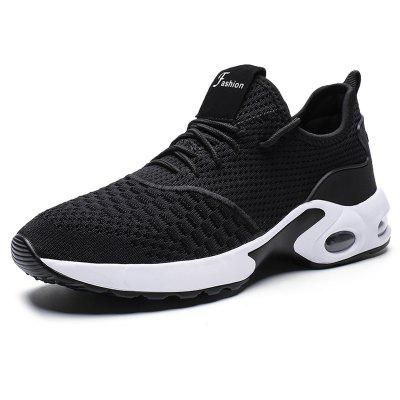 AILADUN Men Breathable Sneaker Low-top Casual Sports Shoes with Air Cushion Large Size