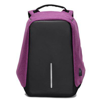 Anti-theft Shoulder Bag Charging Port Business Computer Travel Backpack