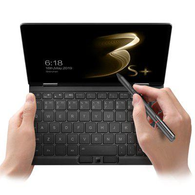 One Netbook OneMix 3S+ 360 Degree Yoga Pocket Laptop Intel Core i3-10110Y 8.4 inch 2560 x 1600 IPS Screen Windows 10 8GB RAM 256 ROM