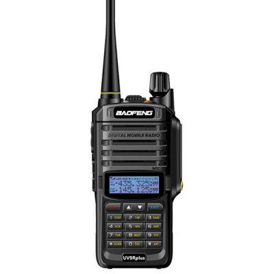 Baofeng BF-UV9R PLUS 15km Long Range Walkie Talkie 8W High Power Wireless két út Rádiók Hunting Security