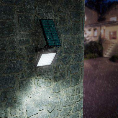 BRELONG BR-0126 50 LED Solar Wall Light Lawn Home Garden Outdoor Projection Lamp