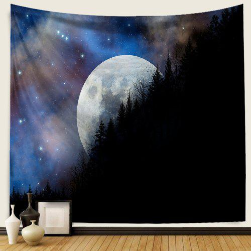 Tapestry Window Starry Sky Print Tapestry Art Wall Hanging Tapestry Home Decor
