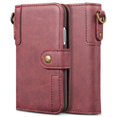 PU bőr Flip Type Phone Case Holder / Wallet Function védőfedelének nyakpánt Huawei P20