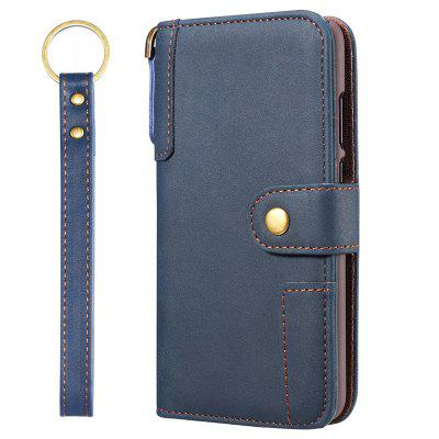 PU bőr Flip Type Phone Case Holder / Wallet Function védőfedelének nyakpánt Huawei P30
