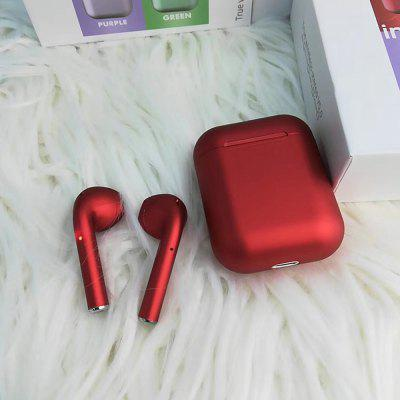 Inpods12 Matte Plating HiFi Stereo Binaural Bluetooth Earphones Sports Earbuds