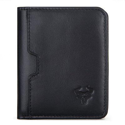 HUMERPAUL BP886 Men RFID Wallet Thin Security Money Purse Pocket Cards Clip
