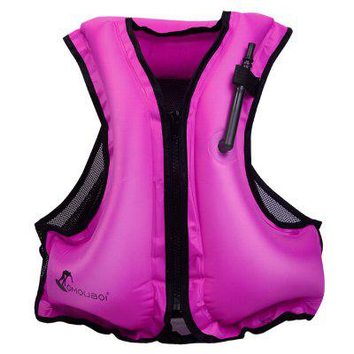 OMOUBOI SOF00002 Outdoor Swimming Wading Polyester Sports Portable Inflatable Buoyancy Vest