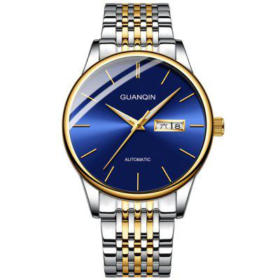 GUANQIN GJ16217 Men's Water-resistant Hollow Out Automatic Mechanical Watch Luminous Simplicity Business Wristwatch