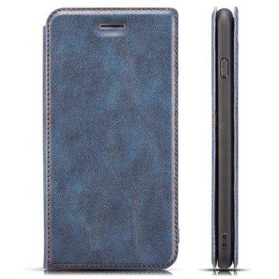 Retro 3-in-1 Ultra-thin Flip Phone Case PU Leather Protective Cover for iPhone 7 Plus