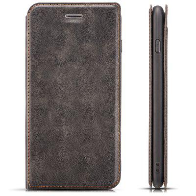 Retro 3-in-1 Ultra-thin Flip Phone Case PU Leather Protective Cover for iPhone X