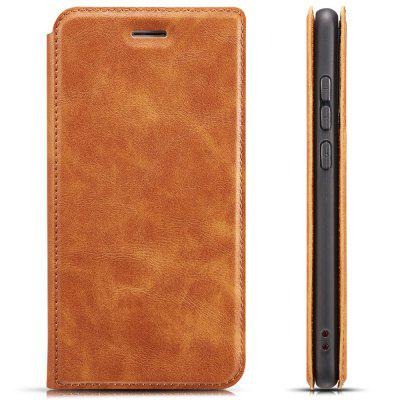 Retro 3-in-1 Ultra-thin Flip Phone Case PU Leather Protective Cover for Samsung A72018