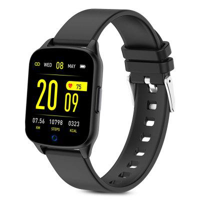 KingWear KW17 1.3 inch Bluetooth Smart Sports Watch Health Care Fitness Tracker Replaceable Strap