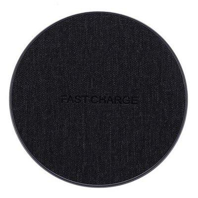 Fabric High Quality Fast Charging Wireless Charger for iPhone X