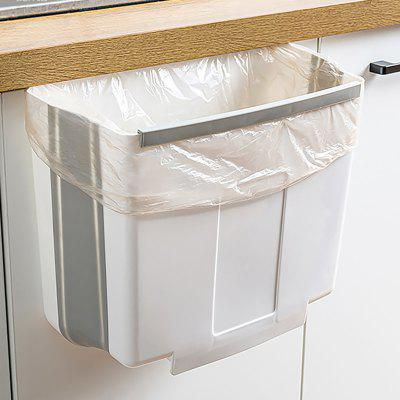 Foldable Cupboard Hanging Trash Can Space Saving Waste Bin