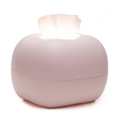 BRELONG BR-0136 Creative Tissue Box Night Light USB oplaadbare Slaapkamer Babyvoeding Lamp
