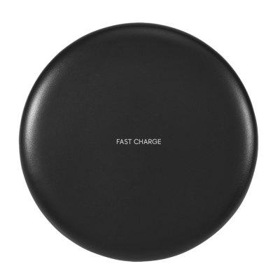 Fast Qi Standard Charger Ultra Slim Wireless Charging Pad voor iPhone X / 8/8 Plus