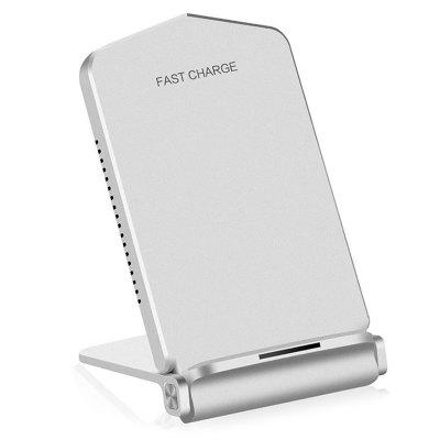 USB Wireless Charger Adapter Fast Charging Smartphone Desk Holder