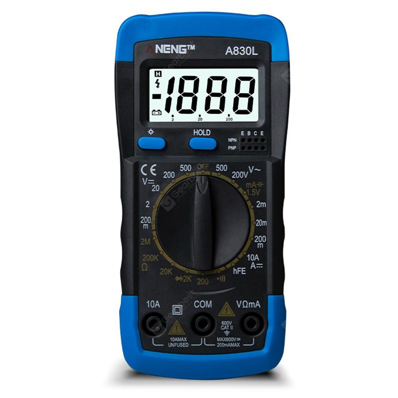 ANENG A830L Handheld Multimeter Voltage Meter Household Electrical Instrument