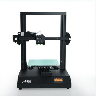 Anet ET4 PRO Touch Control Mute 3D Printer Quick Assembly - Black ET4 PRO EU Plug