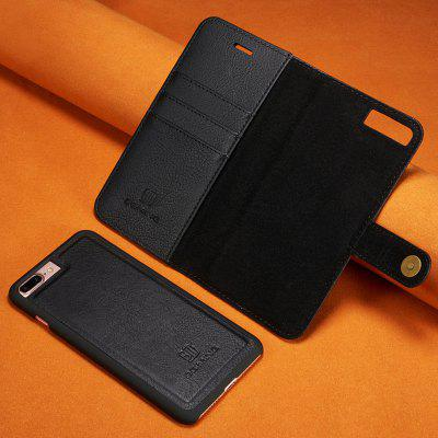 Luxury Magnetic Detachable Horizontal Leather Phone Case with Card Slots Wallet for iPhone 8 Plus / 7 Plus