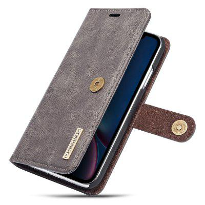 Luxury Magnetic Detachable Horizontal Leather Phone Case with Card Slots Wallet for iPhone XR