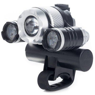 Multi-functionele Fiets Front Light USB opladen inductie Zoom Light